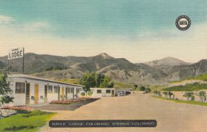 COLORADO SPRINGS , Colorado, 1930-40s ; Maple LOdge