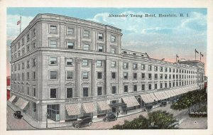 Alexander Young Hotel, Honolulu, Hawaii Territory, early postcard, unused