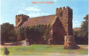 Holy City Chapel, Wichita Mountains Easter Sunrise Service, Oklahoma, OK, Chrome
