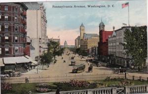 Washington D C Trolleys On Pennsylvania Avenue