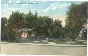 Tannehill Park, Moberly, Missouri, MO 1914 Divided Back