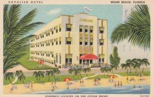 MIAMI BEACH , Florida, 1930-40s ;  Cavalier Hotel #2