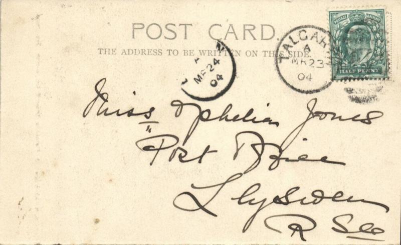new zealand, Beautiful Female Maori Canoeist (1904) Stamp