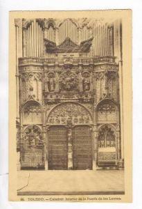 Catedral, Interior De La Puerta De Los Leones, Toledo, Spain, 1900-1910s