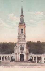 France Domremy La Facade de la Basilique du Bois Chenu