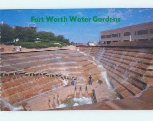 Unused Pre-1980 WATER GARDENS Fort Worth Texas TX hn0977
