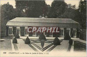 Old Postcard Chantilly Sylvie Garden Fair