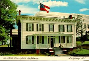 Alabama Mintgomery First White House Of The Confederacy
