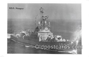 Kodak Paper Real Photo Postcard Post Card USS Hooper