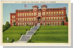 Johnson City, Tennessee/TN Postcard,High School, Near Mint!