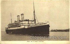 S.S. Orama Orient Line Ship Unused crease right top corner, light corner wear...