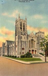North Carolina Charlotte First Methodist Church Curteich