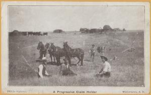 Watertown, South Dakota- A Progressive Claim Holder (Public Opinion)-1909
