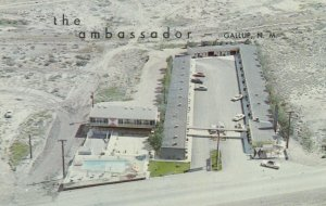 GALLUP , New Mexico , 50-60s ; AMBASSADOR MOTEL, West HWY. 66
