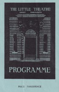 Great Yarmouth Breadwinner 1949 Little Theatre Comedy Programme