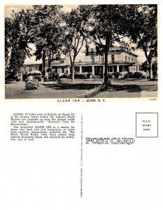 Alden Inn, Alden, New York