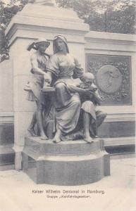 Kaiser Wilhelm Denkmal, Hamburg , Germany , 1890s