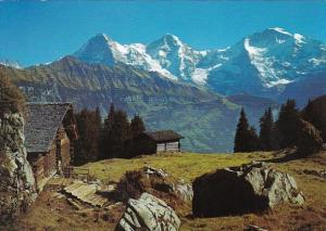 Switzerland Eiger Moench Jungfrau