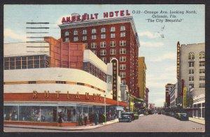 Orange Ave - Orlando, FL - Angebilt Hotel - Rutland's - 1957