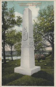 RICHMOND, Virginia, PU-1915; Fitzhugh Lee Monument