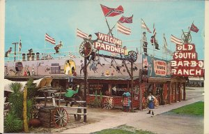 Clewiston FL, Roadside Americana, Confederate Old South BBQ Highway Diner,