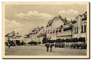 Old Postcard Skutec Palackeho Namesti
