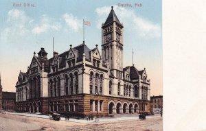OMAHA, Nebraska, PU-1911; Post Office