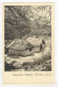 RP  Peasant Homes - Haiti, W. I. 00-10s