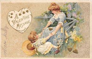 G30/ Valentine's Day Love Holiday Postcard c1910 Pretty Girl Woman 11