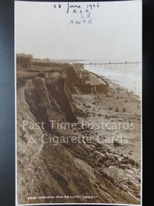 Norfolk: Hunstanton from the Cliffs RP c1924 Pub by Judges