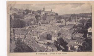 General View, Grund & Ville Haute, Luxembourg, 1910-1920s