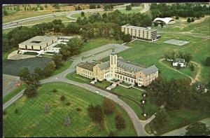 New York ROCHESTER Aerial - Saint John Fisher College - pm1966 - Chrome
