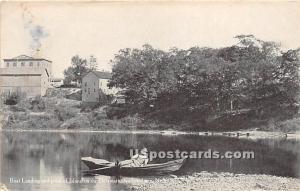 Boat Landing and Point of Island Narrowsburg NY 1914