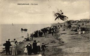 CPA COUTAINVILLE - Mer Haute (137787)