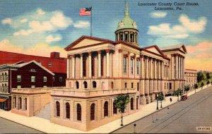 Pennsylvania Lancaster County Court House