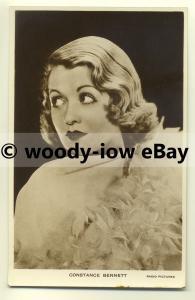 b2078 - Film Actress - Constance Bennett - postcard
