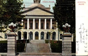 Maine Augusta State House 1906