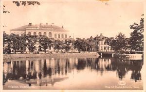 Sweden Old Vintage Antique Post Card Filipstad Stadshotellet Postal Used Unknown