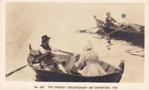 Photo Of Painting, Boating, The Swedish Tercentenary Art Exhibition, 1938