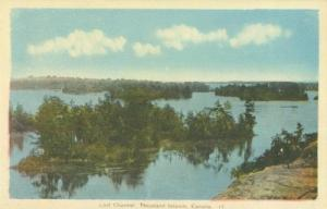 Canada, Lost Channel, Thousand Islands, early 1900s unuse...