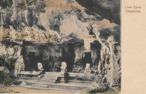 Lion Cave Elephanta , India , 00-10s