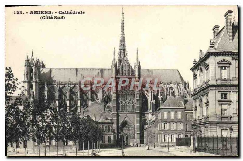 Old Postcard Amiens