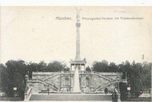 Germany Postcard - Munchen - Prinzregenten - Terrasse Mit Friedensdenkmal 12123A