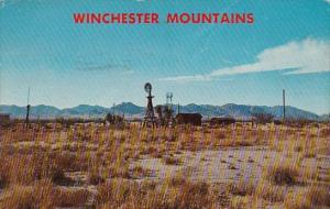 Arizona Willcox Winchester Mountains 1971