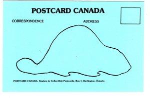 Postcard Canada, Burlington, Ontario, Deltiology