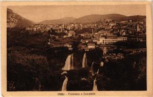 CPA TIVOLI Panorama e Cascatelle ITALY (545932)