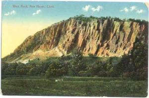 West Rock, New Haven, Connecticut, CT,1916 Divided back