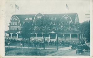 The Brenton Bass Point Hotel Nahant MA Mass Vintage Postcard E7