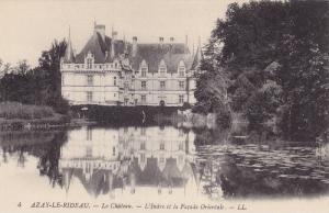 Le Chateau, L´Indre Et La Facade Orientale, Azay-Le-Rideau (Indre et Loire),...