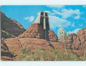 Pre-1980 CHURCH SCENE Sedona Arizona AZ p4496